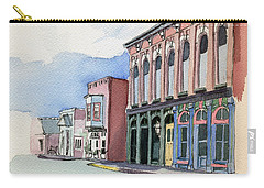 Main Street In Gosport Carry-all Pouch by Katherine Miller