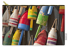 Maine Fishing Buoys Carry-all Pouch