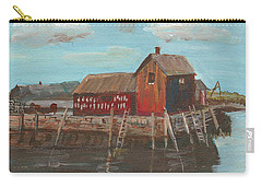 Maine Fishing Shack Carry-all Pouch