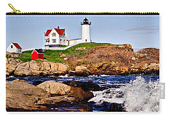 Maine's Nubble Light Carry-all Pouch
