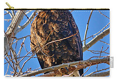 Majestic Bald Eagle Carry-all Pouch by Greg Norrell