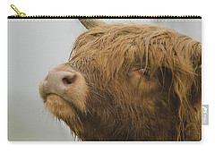 Majestic Highland Cow Carry-all Pouch