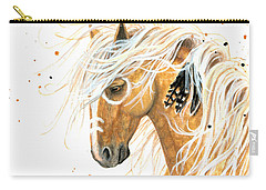 Majestic Palomino Horse 84 Carry-all Pouch