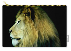 Carry-all Pouch featuring the photograph Majestic King by Maria Urso