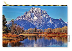 Carry-all Pouch featuring the photograph Majestic Moran by Benjamin Yeager