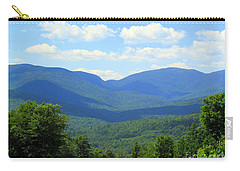 Majestic Mountains Carry-all Pouch by Elizabeth Dow