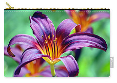Carry-all Pouch featuring the photograph Majesty by Deena Stoddard