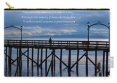 Carry-all Pouch featuring the photograph Make A Small Moment A Great Moment by Jordan Blackstone