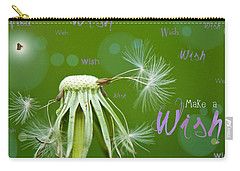 Make A Wish Card Carry-all Pouch