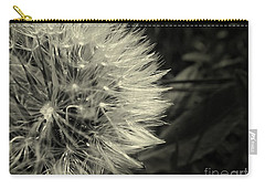 Carry-all Pouch featuring the photograph Make A Wish by Clare Bevan