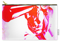 Carry-all Pouch featuring the painting Make My Day by Brian Reaves