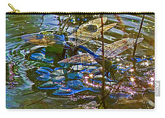 Carry-all Pouch featuring the photograph Making A Deposit For The Future by Gary Holmes