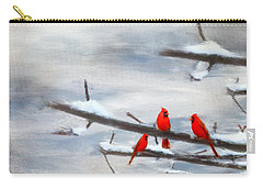 Making Acquaintances Carry-all Pouch by Lourry Legarde