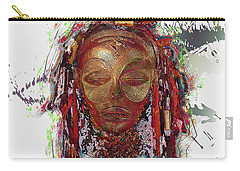Makonde Mapiko - Lipiko Mask Carry-all Pouch