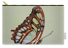Malachite Butterfly #5 Carry-all Pouch