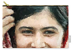 Malala Yousafzai Portrait Carry-all Pouch