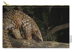 Malayan Pangolin Eating Ants Vietnam Carry-all Pouch by Suzi Eszterhas