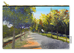 Maldon Victoria Australia Carry-all Pouch by Pamela  Meredith