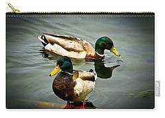 Mallards On Mendota Carry-all Pouch
