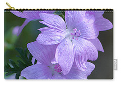 Mallow Blossoms Carry-all Pouch