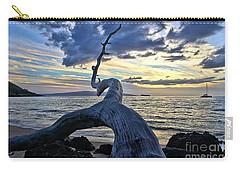 Maluaka Beach Sunset Carry-all Pouch