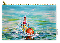 Strolling On The Water Carry-all Pouch