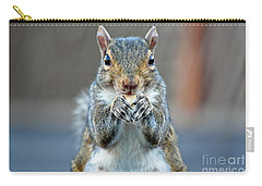 Mama Showing Off Her Manicure Carry-all Pouch by Susan Wiedmann