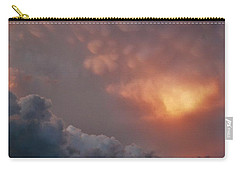 Mammatus At Sunset Carry-all Pouch by Ed Sweeney