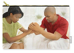 Man And Wife Pray Carry-all Pouch