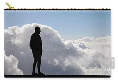Man In The Clouds Carry-all Pouch