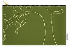 Man Versus Nature Carry-all Pouch