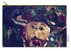 Man With A Hat Carry-all Pouch