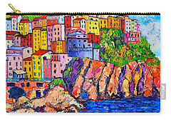 Manarola Cinque Terre Italy Detail Carry-all Pouch