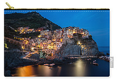 Carry-all Pouch featuring the photograph Manarola by Mihai Andritoiu