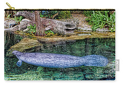 Manatee Carry-all Pouch by Olga Hamilton