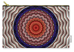 Carry-all Pouch featuring the digital art Mandala 10 by Terry Reynoldson