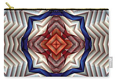Carry-all Pouch featuring the digital art Mandala 11 by Terry Reynoldson