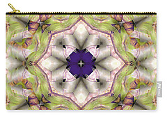 Carry-all Pouch featuring the digital art Mandala 127 by Terry Reynoldson