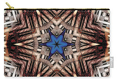 Carry-all Pouch featuring the digital art Mandala 13 by Terry Reynoldson