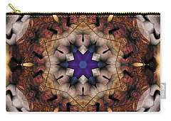 Carry-all Pouch featuring the digital art Mandala 16 by Terry Reynoldson