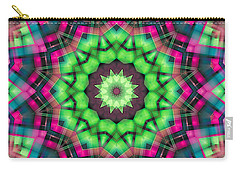 Carry-all Pouch featuring the digital art Mandala 29 by Terry Reynoldson