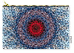 Carry-all Pouch featuring the digital art Mandala 3 by Terry Reynoldson