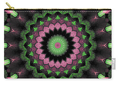Carry-all Pouch featuring the digital art Mandala 34 by Terry Reynoldson