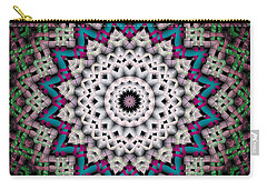 Mandala 37 Carry-all Pouch by Terry Reynoldson