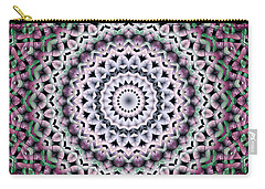 Carry-all Pouch featuring the digital art Mandala 38 by Terry Reynoldson
