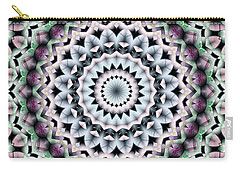 Carry-all Pouch featuring the digital art Mandala 40 by Terry Reynoldson