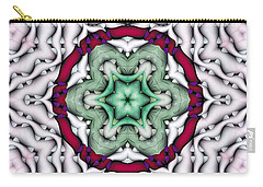 Carry-all Pouch featuring the photograph Mandala 7 by Terry Reynoldson