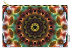 Mandala 74 Carry-all Pouch by Terry Reynoldson