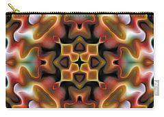 Carry-all Pouch featuring the digital art Mandala 76 by Terry Reynoldson