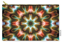 Carry-all Pouch featuring the digital art Mandala 80 by Terry Reynoldson